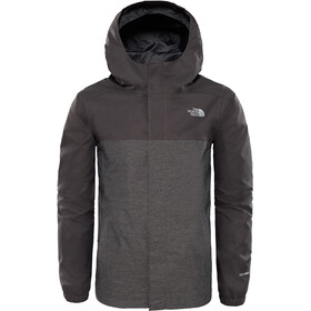 The North Face Resolve Reflective Jas Jongens, graphite grey heather